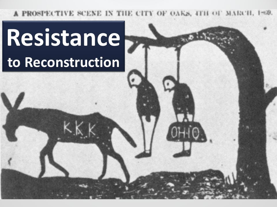 Resistance to Reconstruction