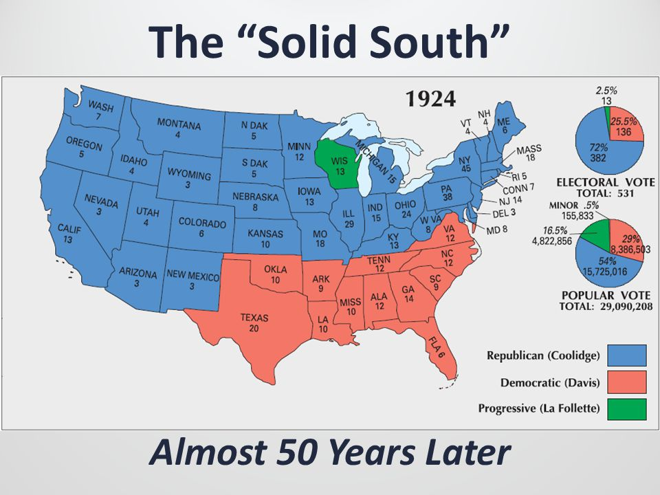The Solid South Almost 50 Years Later