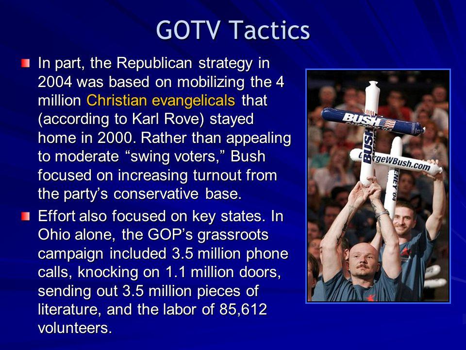 GOTV Tactics
