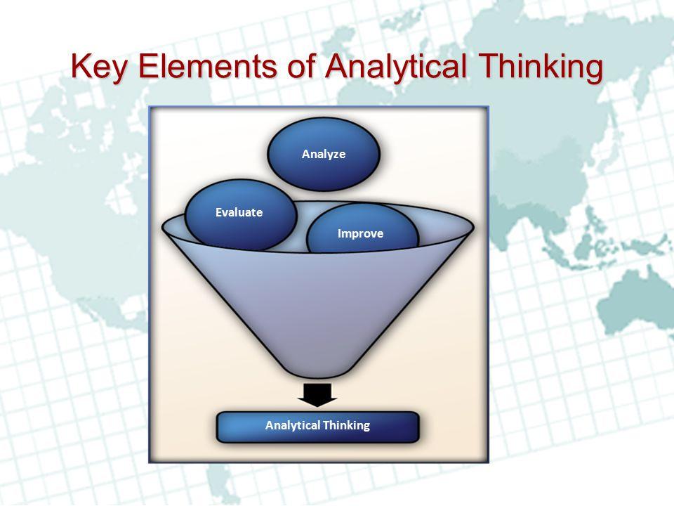 Key Elements of Analytical Thinking