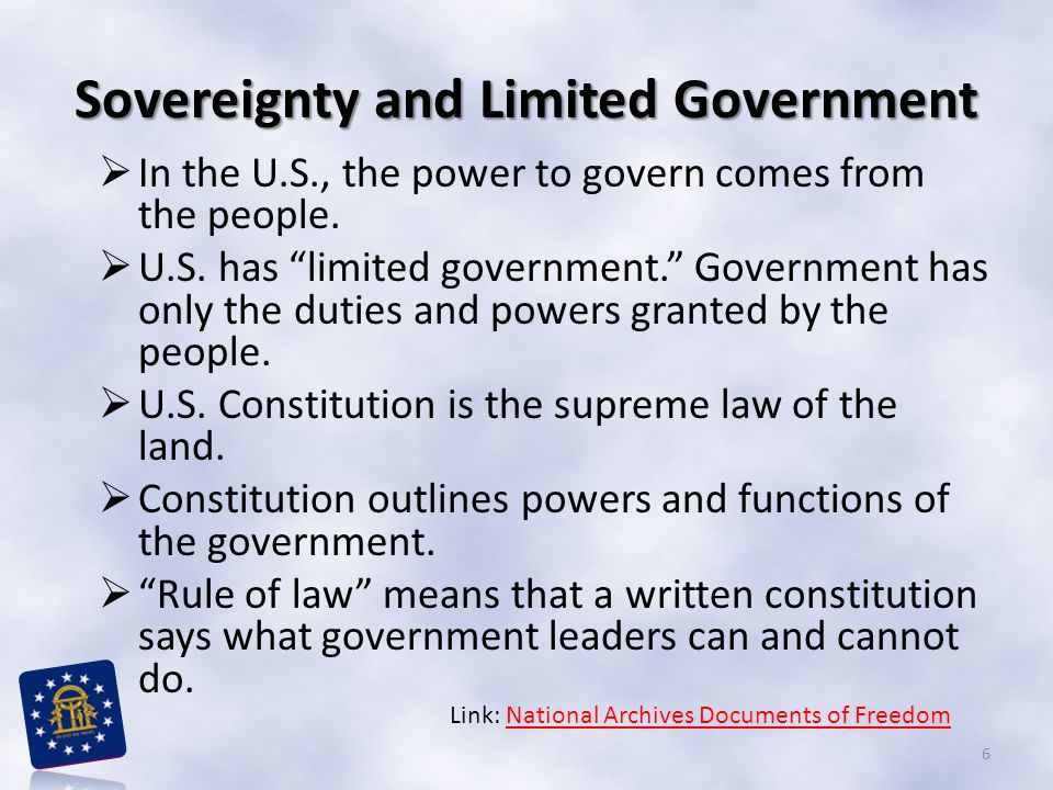 a written constitution means 'rule by The preamble is the opening statement to the united states constitution the preamble explains the  of the constitution was written over  means all the citizens.