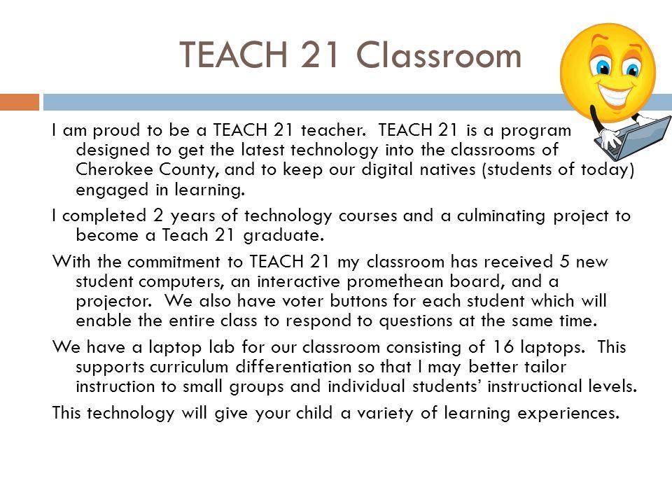 TEACH 21 Classroom