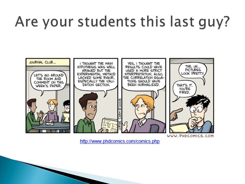 Are your students this last guy