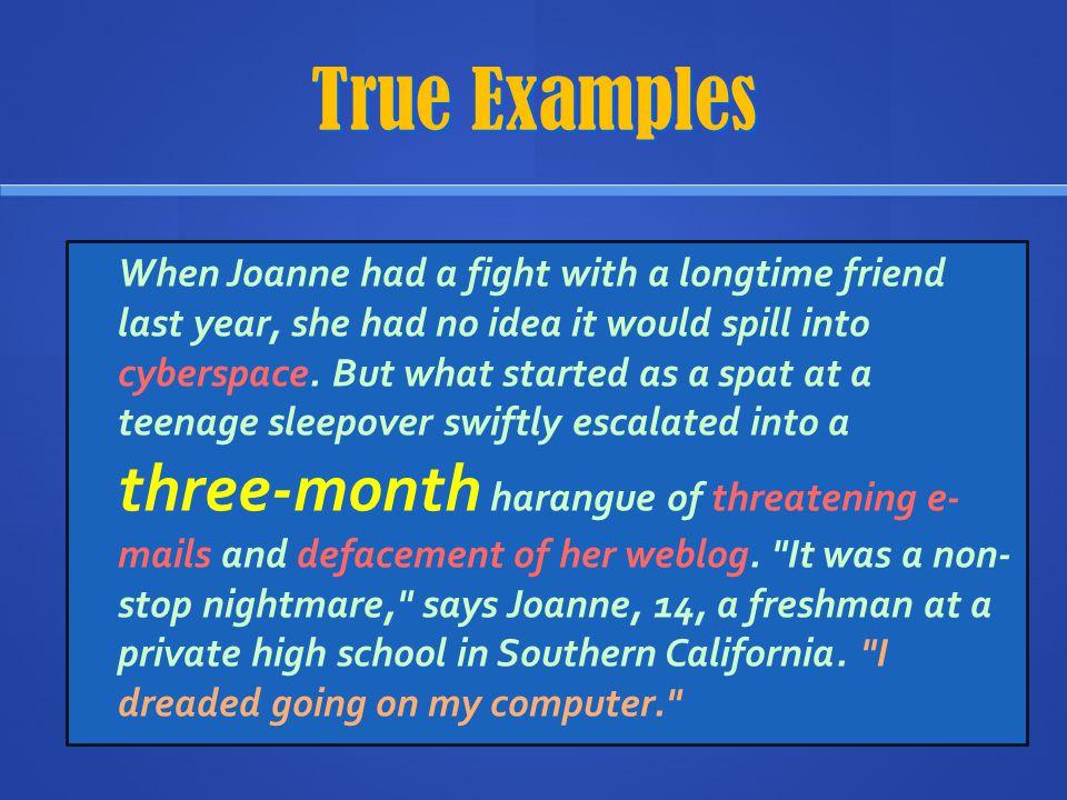 True Examples