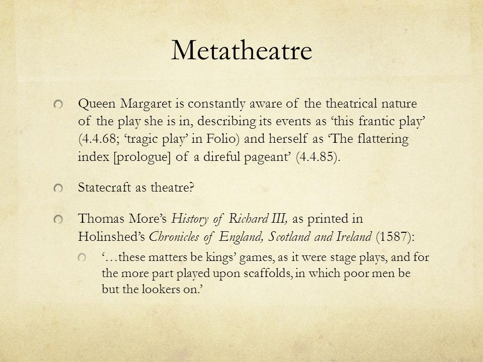 Metatheatre