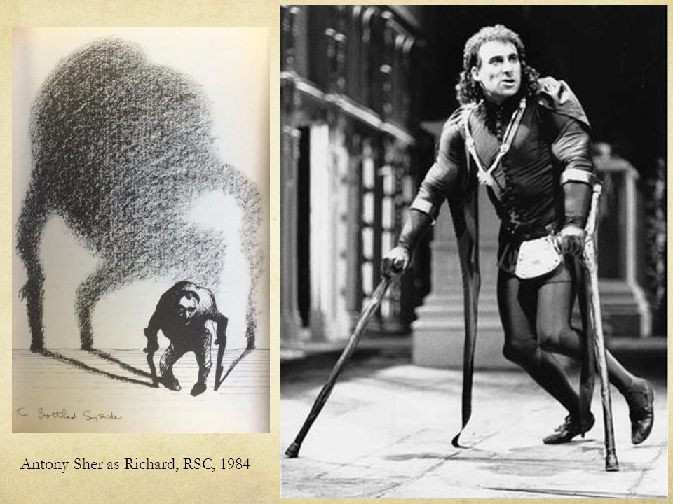 Antony Sher as Richard, RSC, 1984