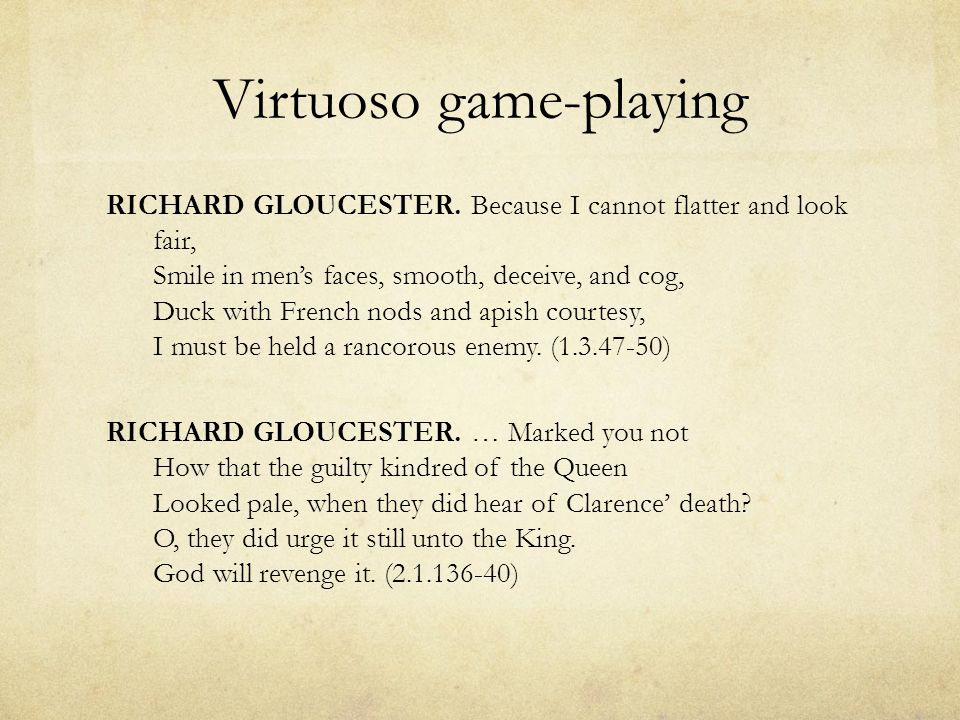 Virtuoso game-playing