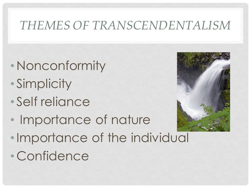 Themes of Transcendentalism