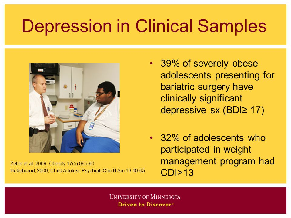 Depression in Clinical Samples