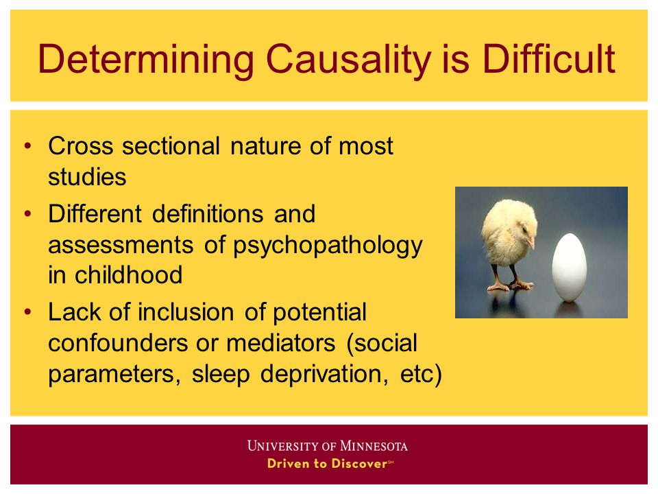 Determining Causality is Difficult