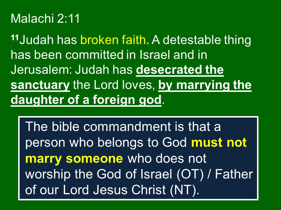 Malachi 2:11