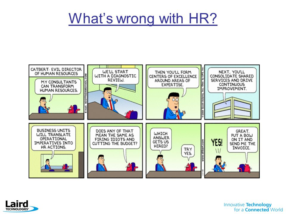 What's wrong with HR