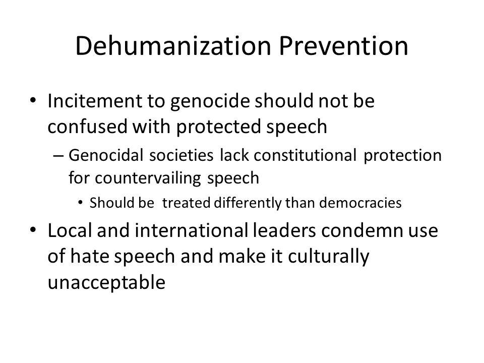 Dehumanization Prevention