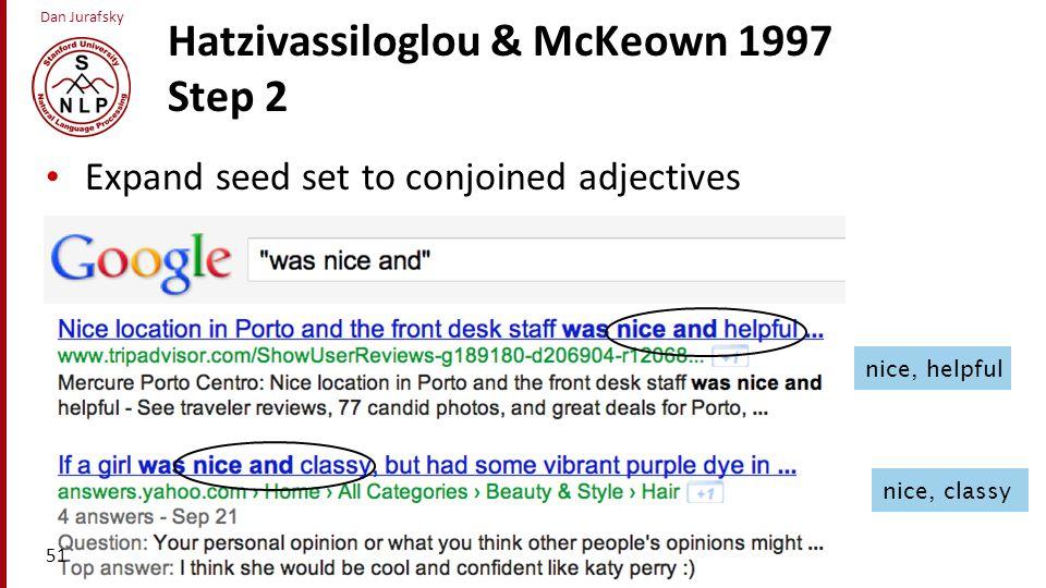 Hatzivassiloglou & McKeown 1997 Step 2