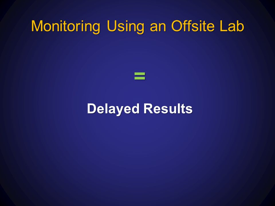 Monitoring Using an Offsite Lab