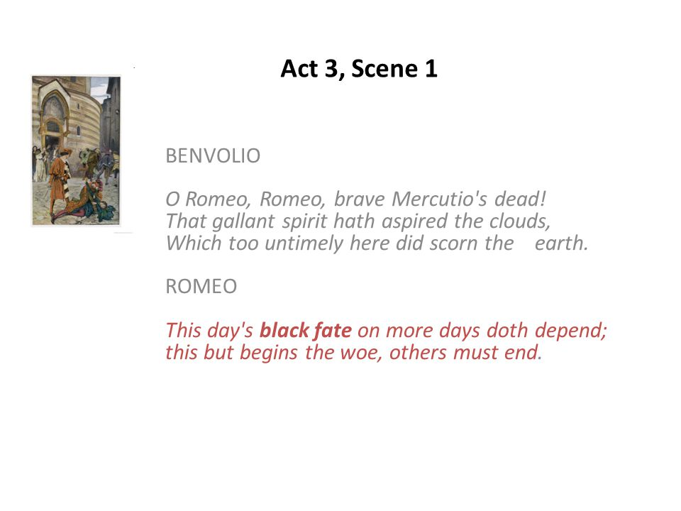 essay on benvolio