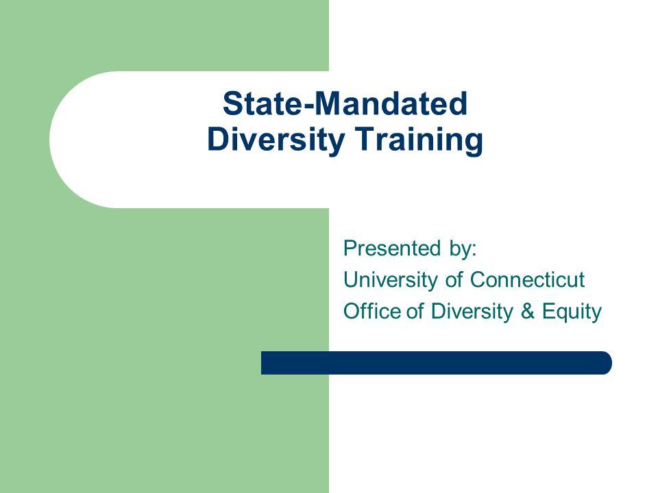 State-Mandated Diversity Training