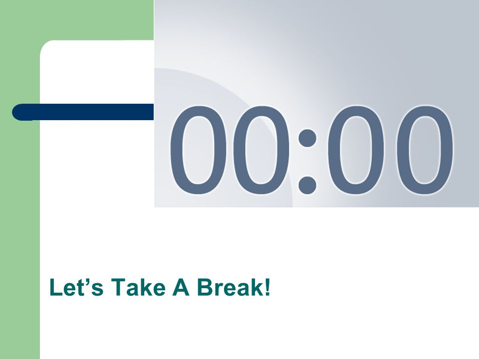 Using this PowerPoint break timer