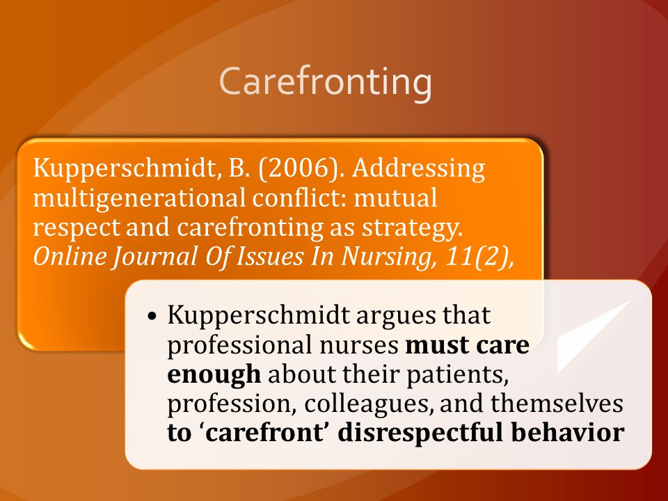 Carefronting