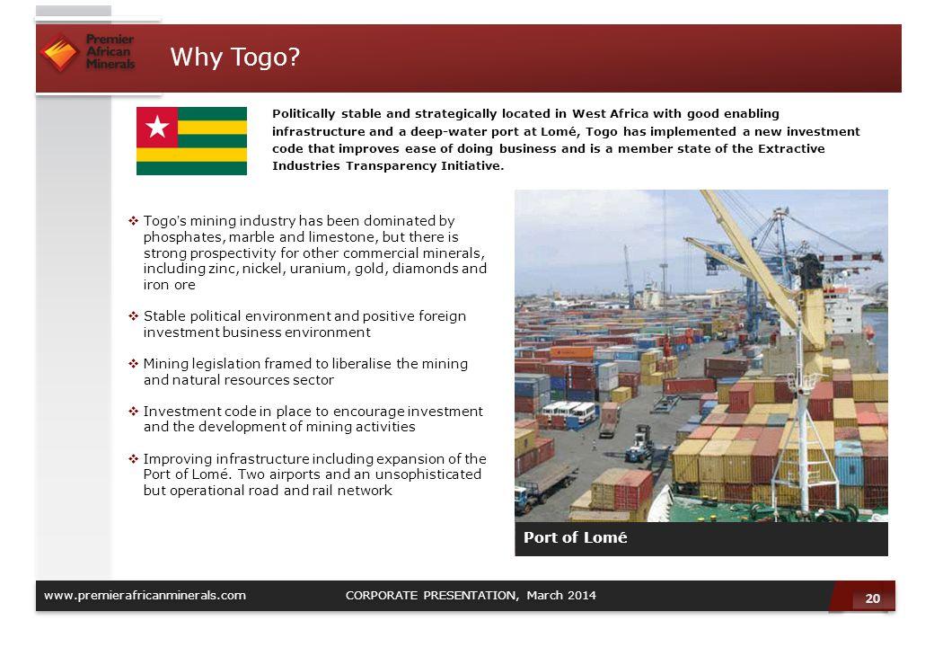 Why Togo