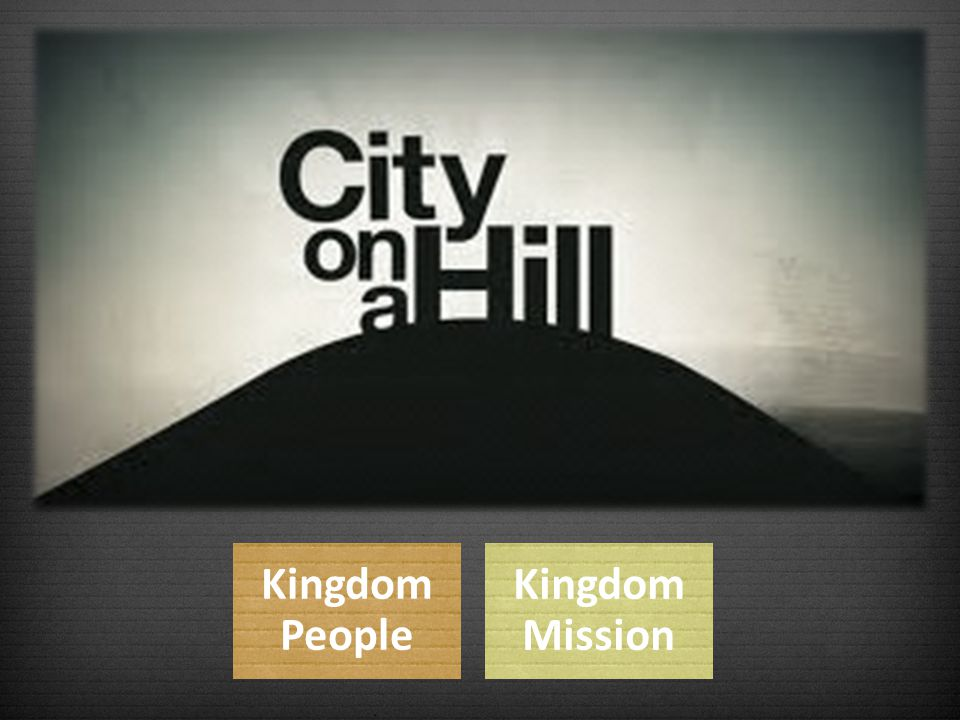 Kingdom People Kingdom Mission
