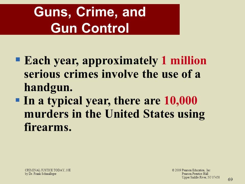 Guns, Crime, and Gun Control
