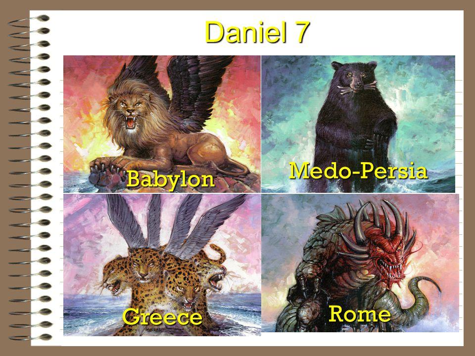 Daniel 7 Babylon Medo-Persia Greece Rome