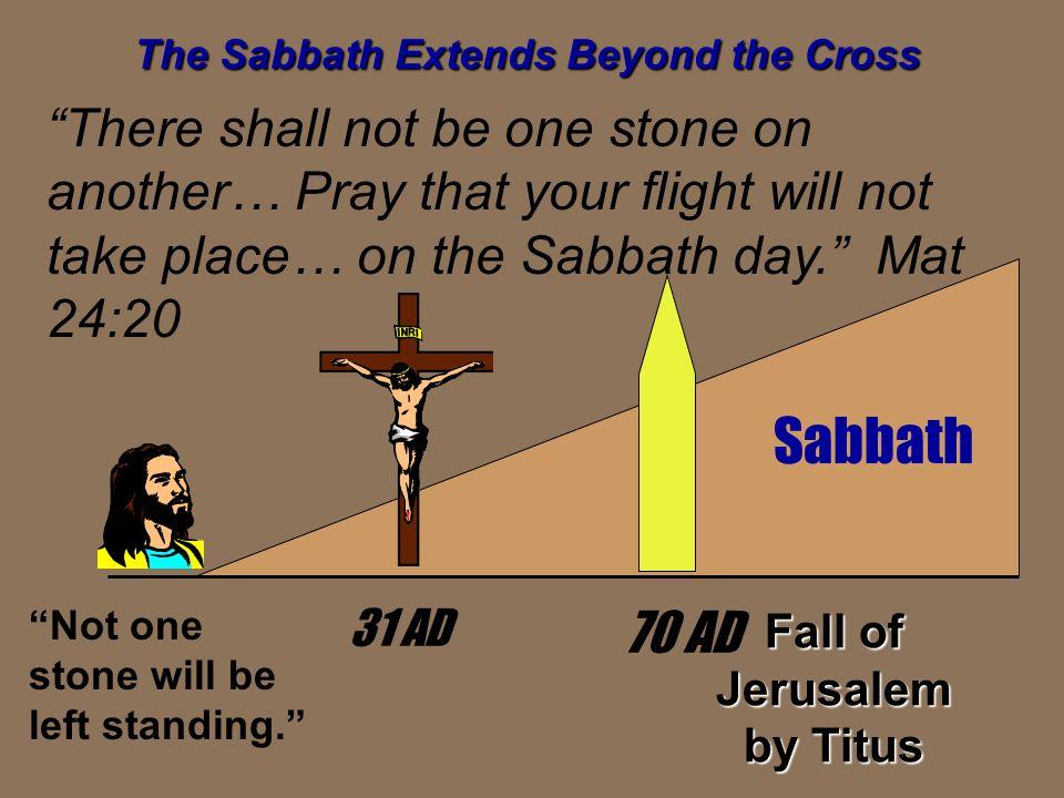 The Sabbath Extends Beyond the Cross