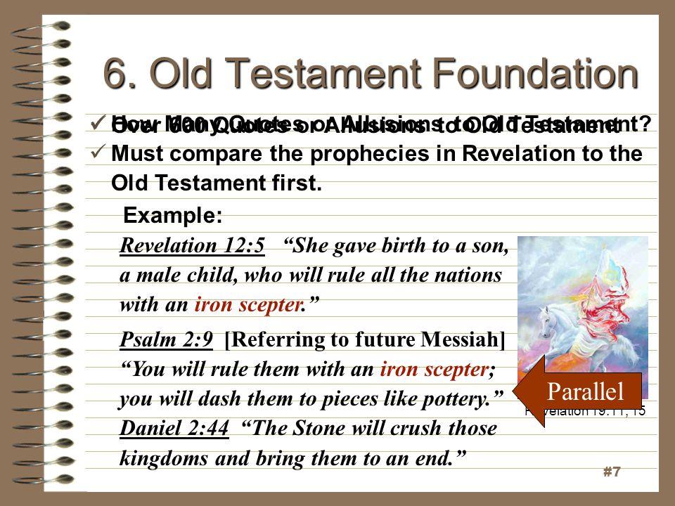 6. Old Testament Foundation