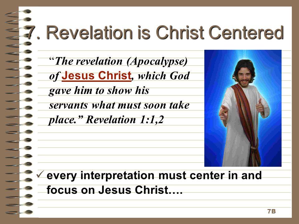 7. Revelation is Christ Centered