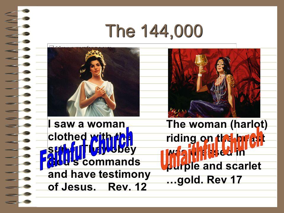 The 144,000 Faithful Church Unfaithful Church