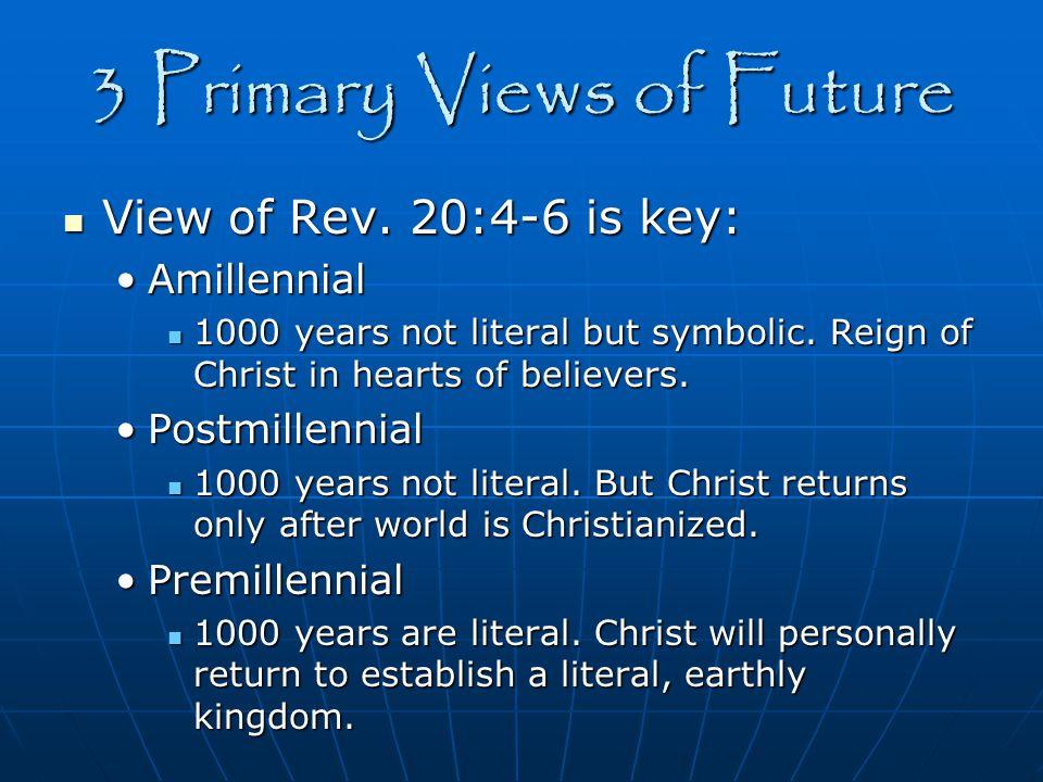 3 Primary Views of Future