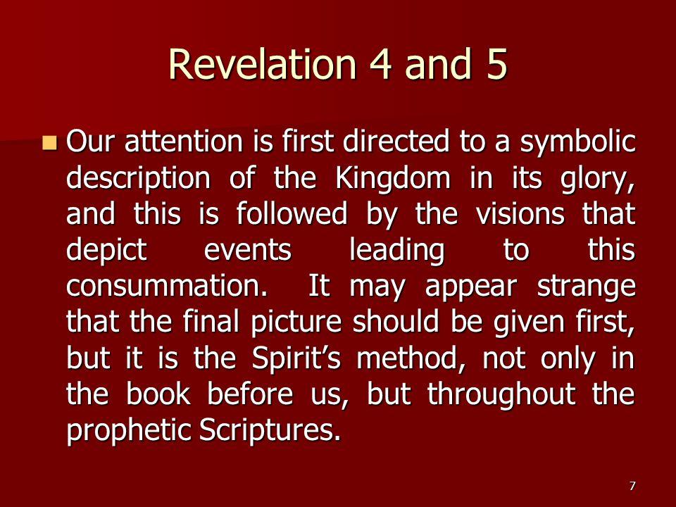 Revelation 4 and 5