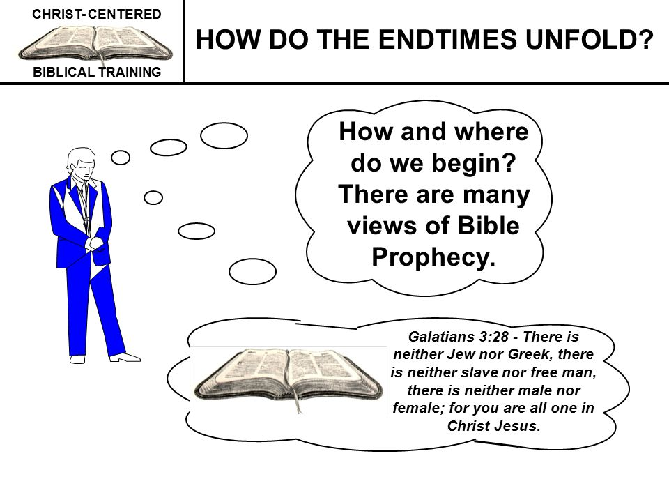 How and where do we begin There are many views of Bible Prophecy.