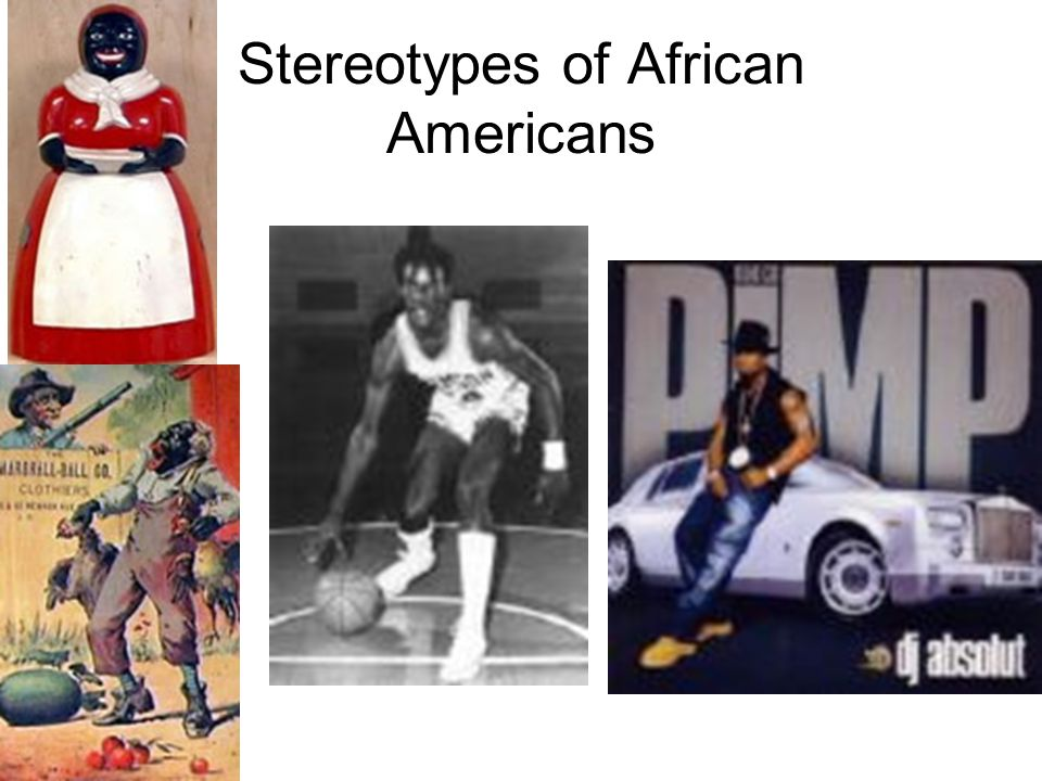 Stereotypes of African Americans