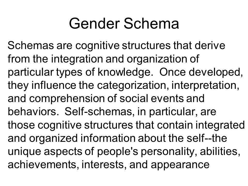 Gender Schema