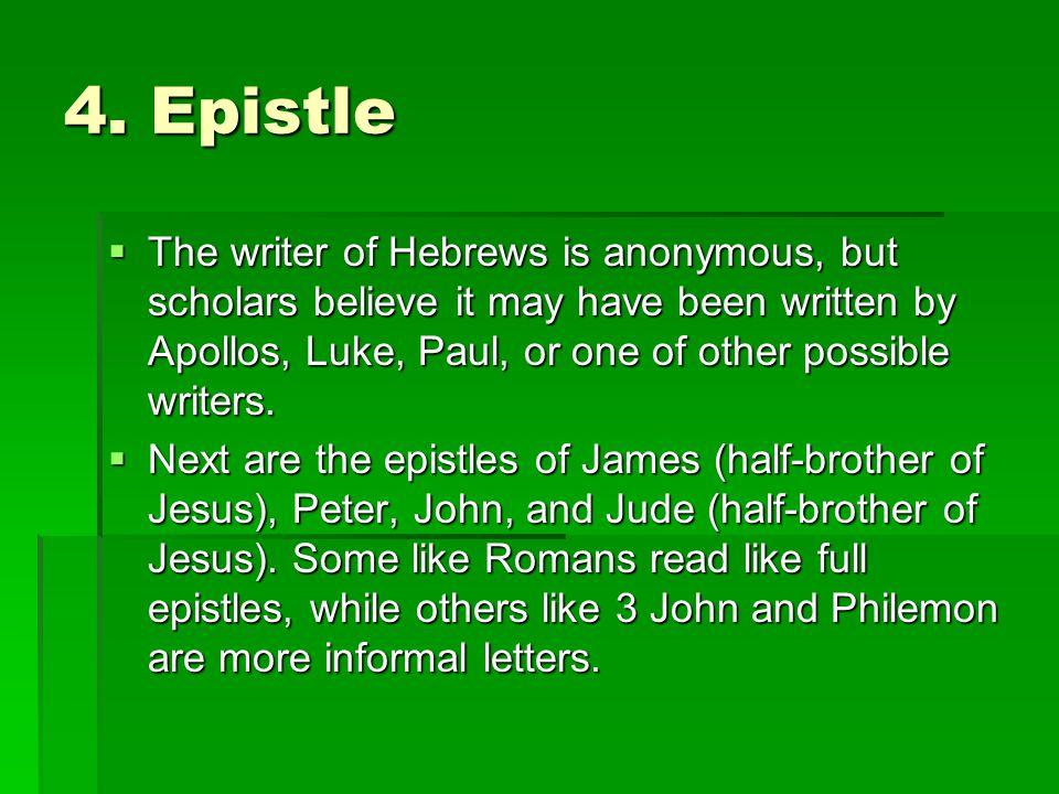 4. Epistle