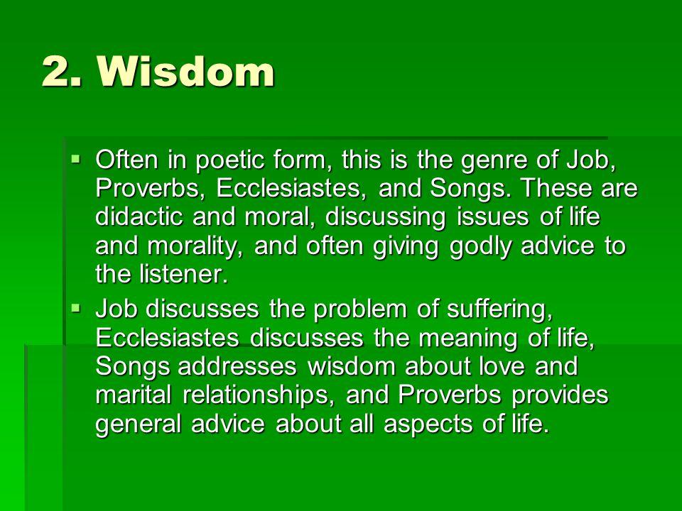 2. Wisdom
