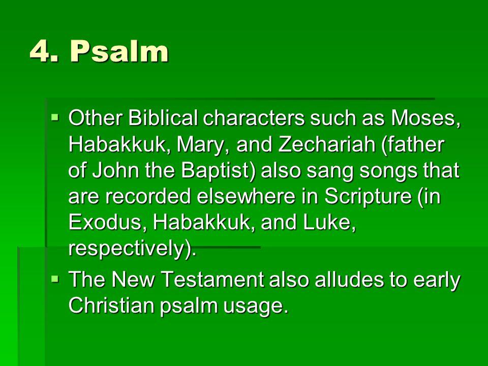 4. Psalm