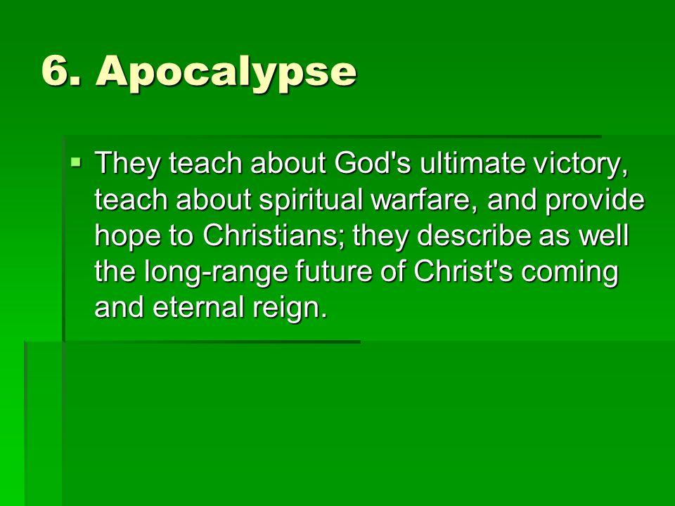 6. Apocalypse