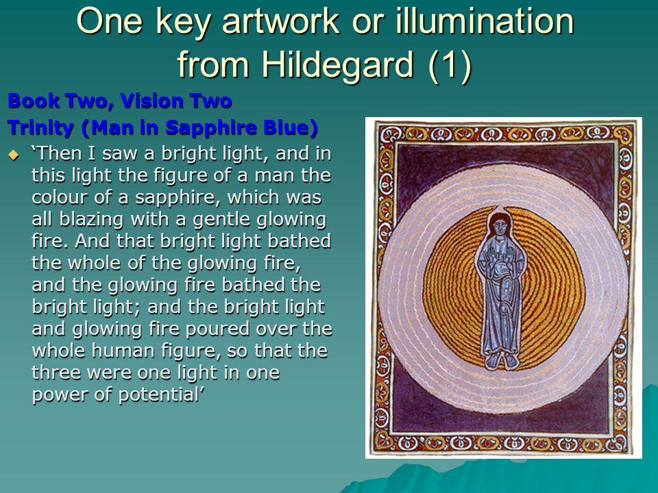One key artwork or illumination from Hildegard (1)