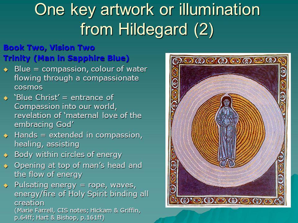 One key artwork or illumination from Hildegard (2)