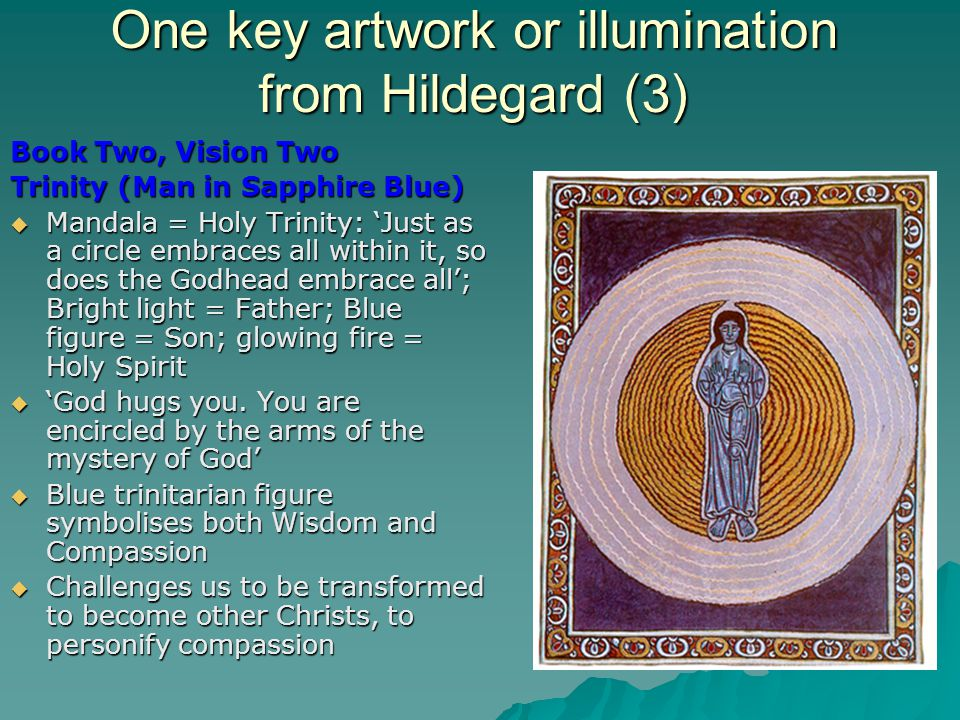 One key artwork or illumination from Hildegard (3)