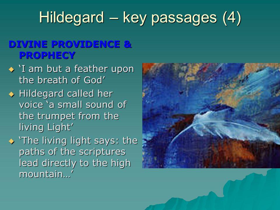 Hildegard – key passages (4)