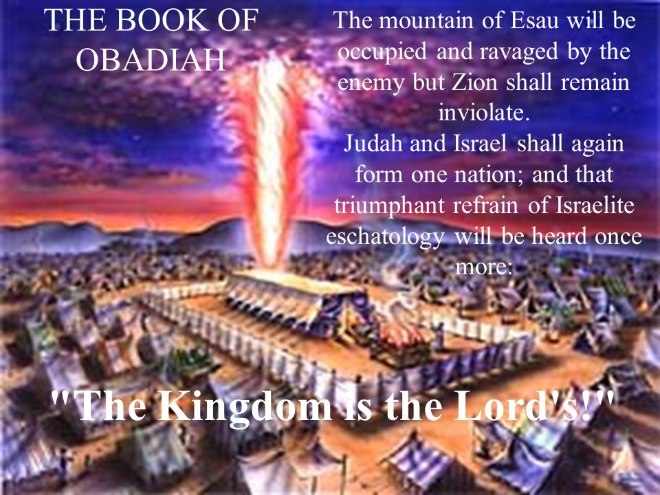 The Kingdom is the Lord s!