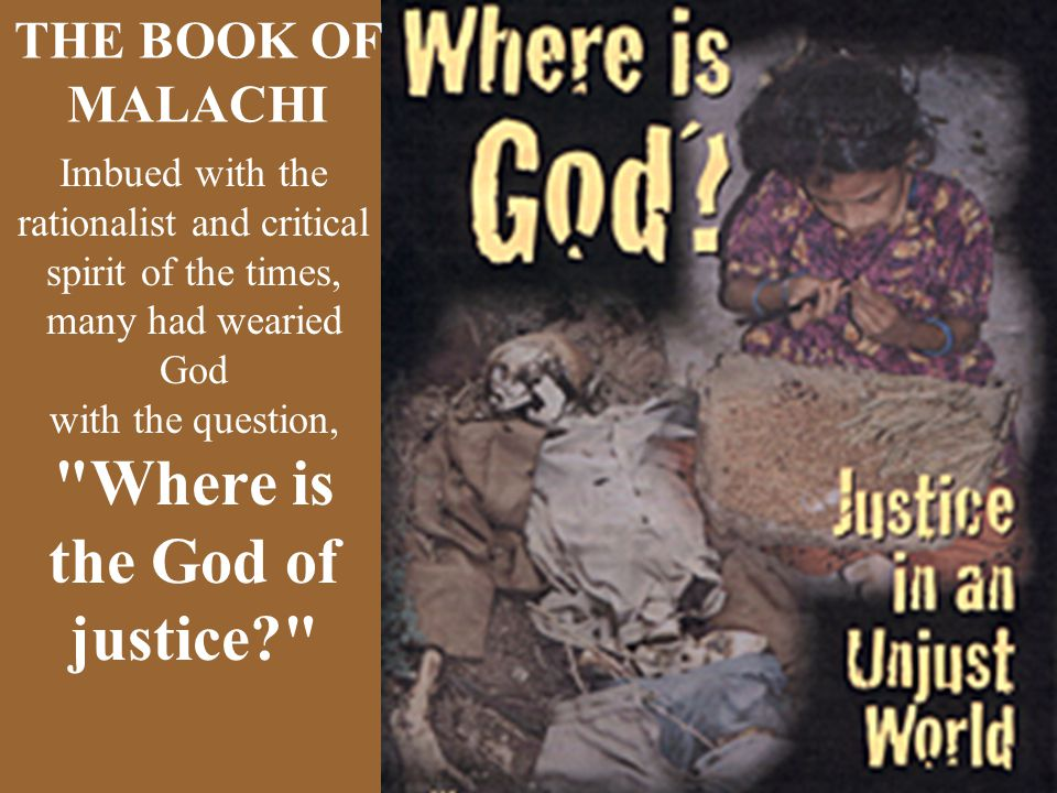 Where is the God of justice