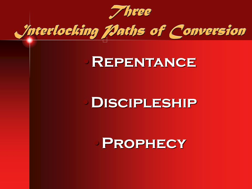 Three Interlocking Paths of Conversion