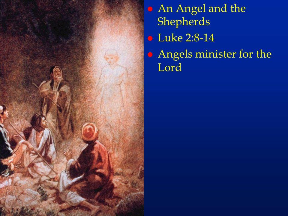cc6 An Angel and the Shepherds Luke 2:8-14