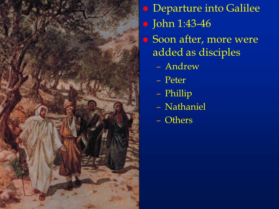 cc26 Departure into Galilee John 1:43-46