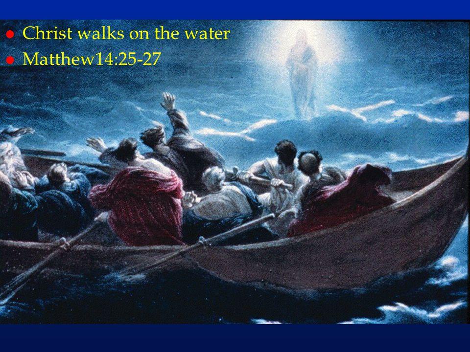 cc49 Christ walks on the water Matthew14:25-27
